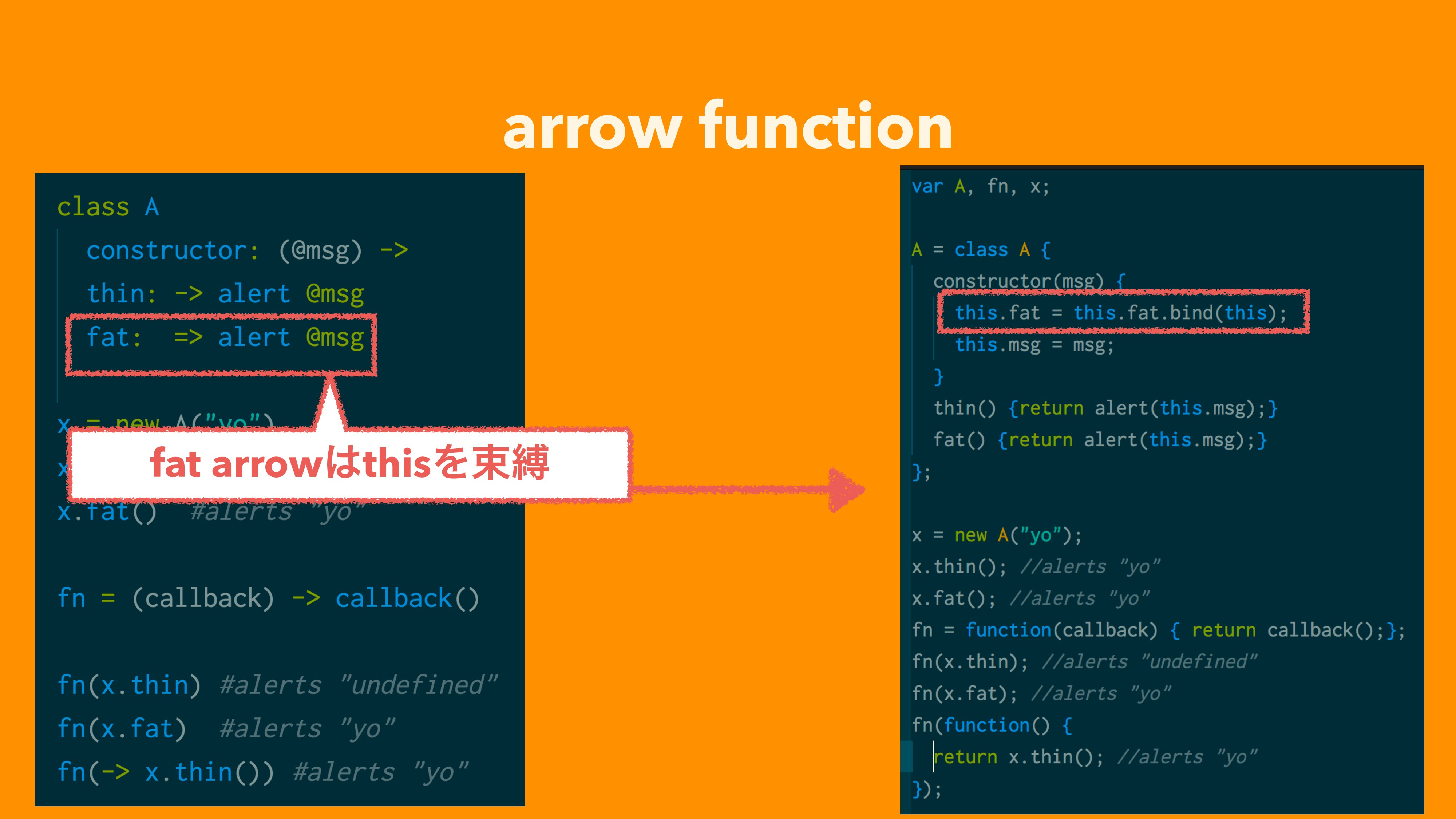 arrow function fat arrow͸thisΛଋറ