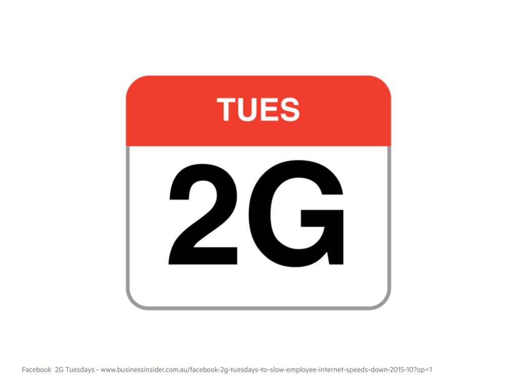 Facebook 2G Tuesdays - www.businessinsider.com....