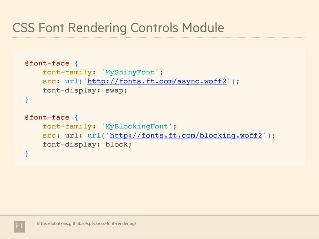 CSS Font Rendering Controls Module https://taba...