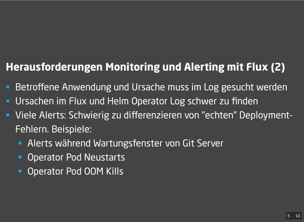 / Herausforderungen Monitoring und Alerting mit...