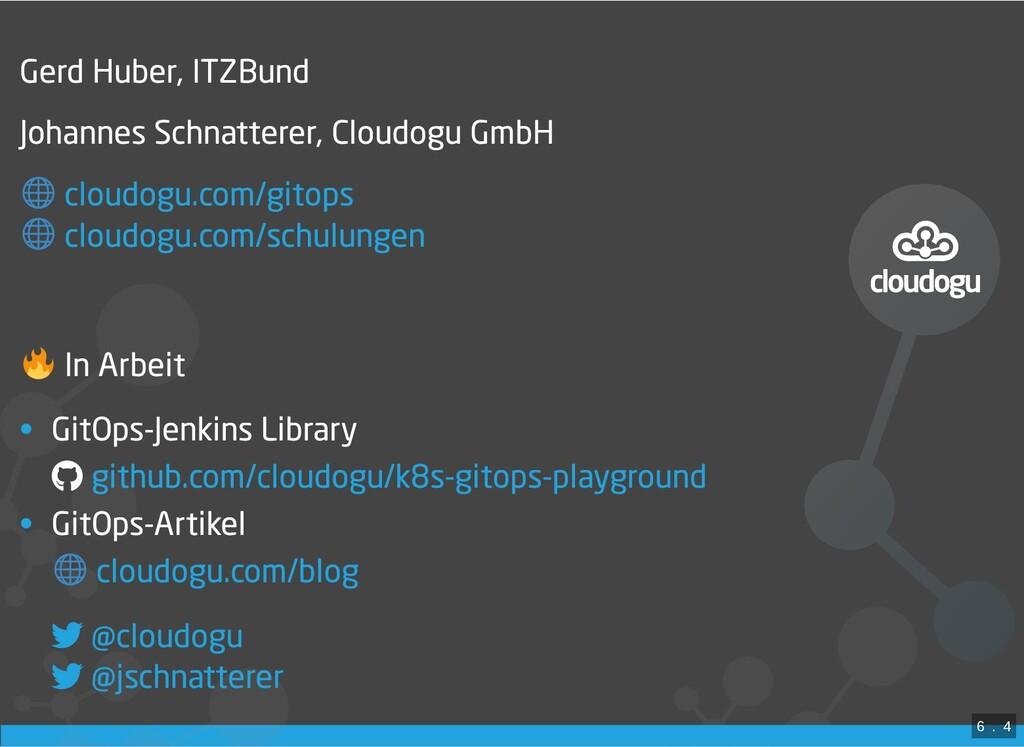 / Gerd Huber, ITZBund Johannes Schnatterer, Clo...