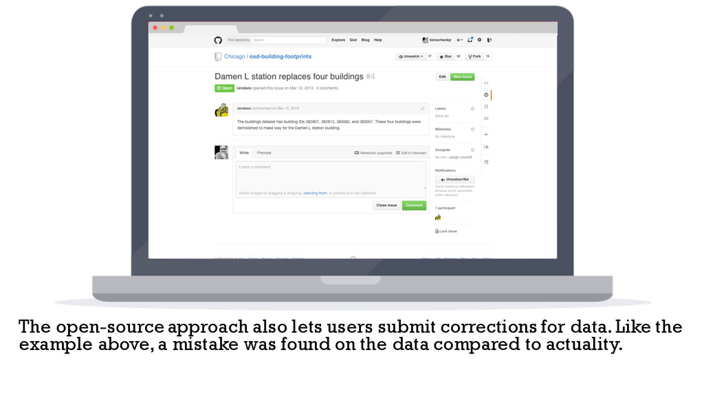 The open-source approach also lets users submit...