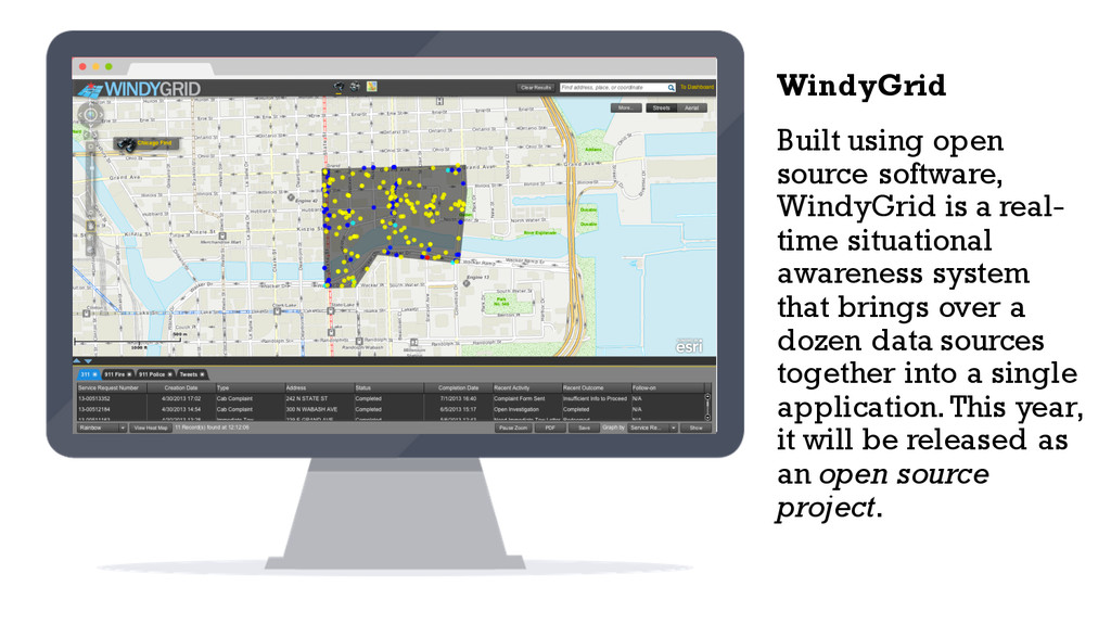 Built using open source software, WindyGrid is ...