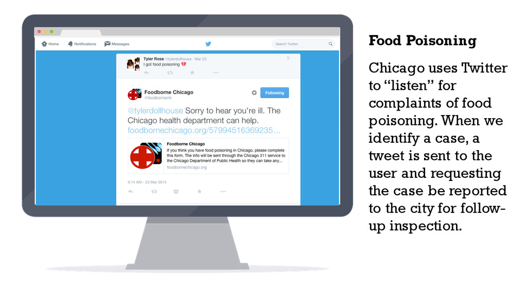 "Chicago uses Twitter to ""listen"" for complaints..."
