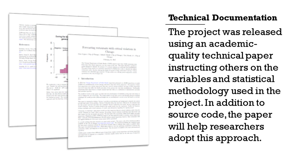 The project was released using an academic- qua...