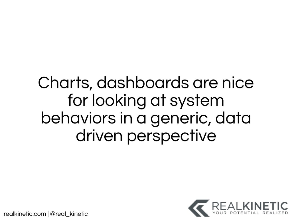realkinetic.com | @real_kinetic Charts, dashboa...