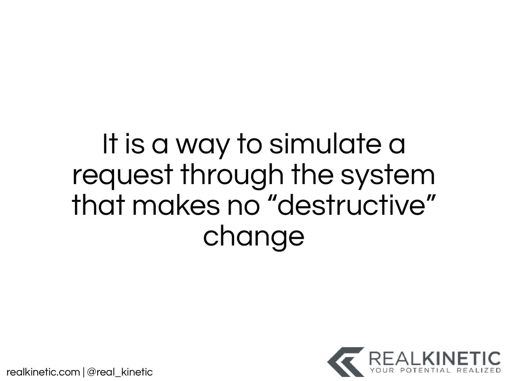 realkinetic.com | @real_kinetic It is a way to ...