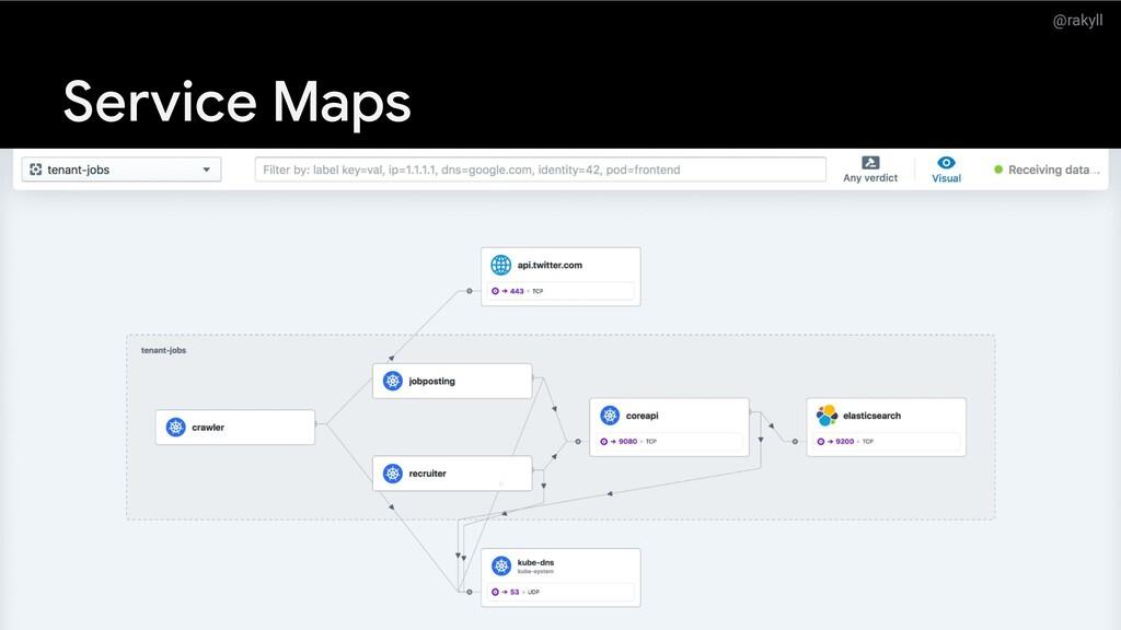@rakyll Service Maps