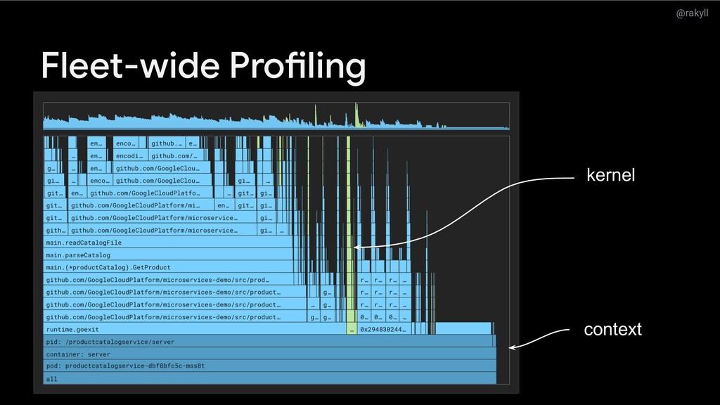 @rakyll Fleet-wide Profiling context kernel