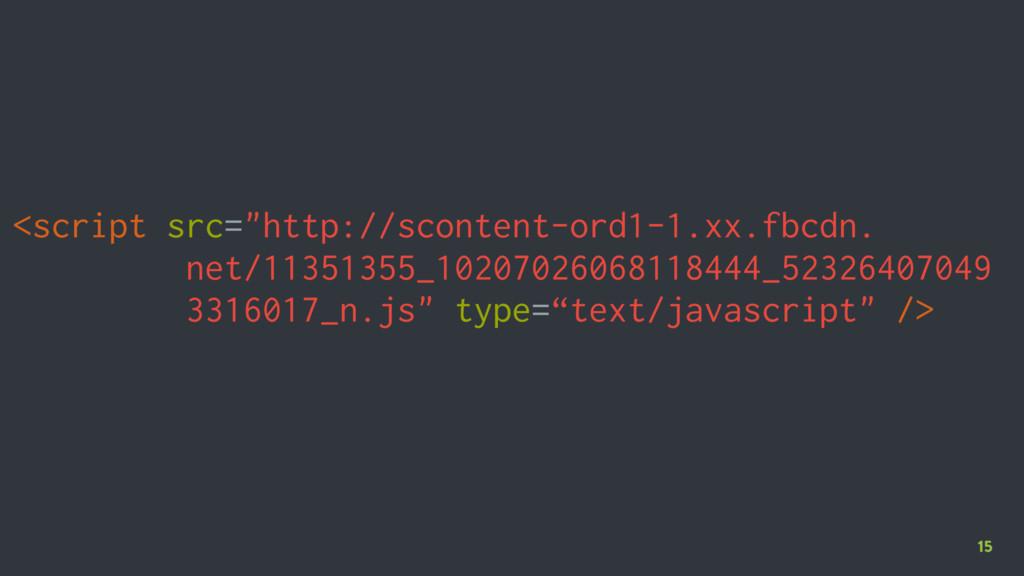 """15 <script src=""""http://scontent-ord1-1.xx.fbcdn..."""