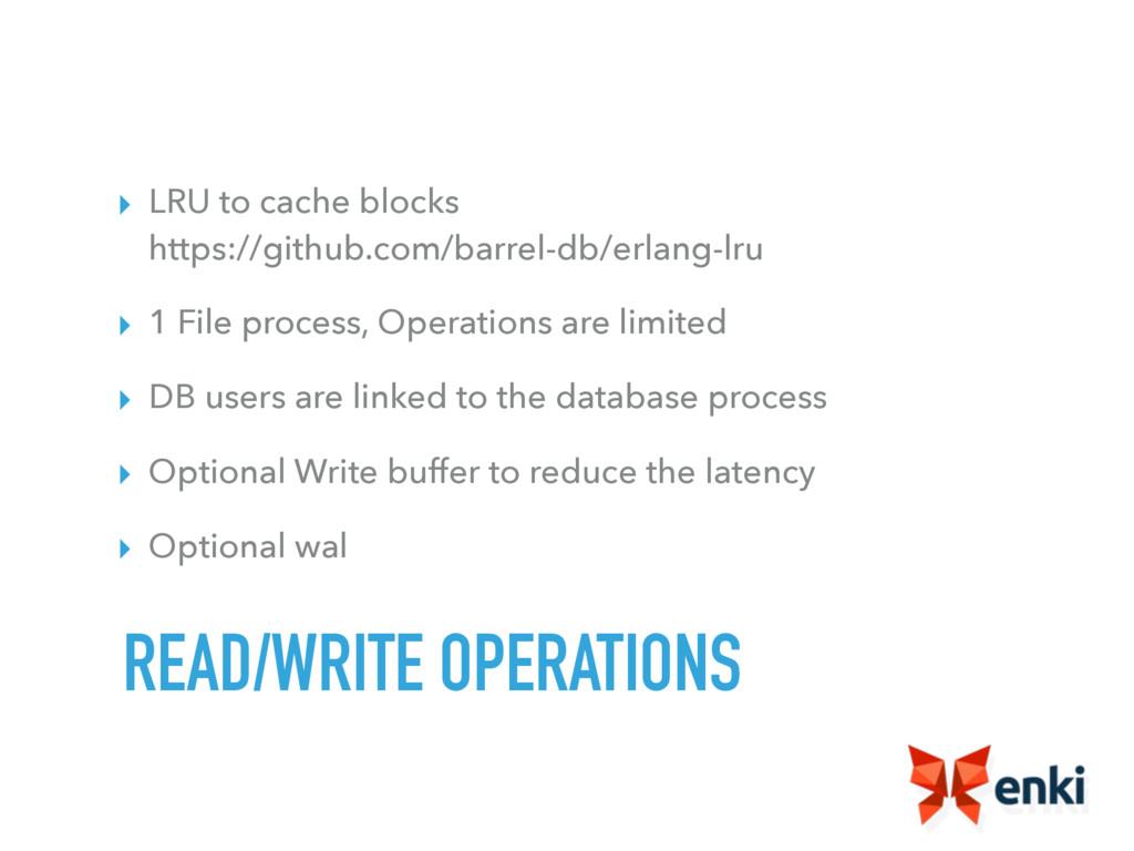 ▸ LRU to cache blocks https://github.com/barre...