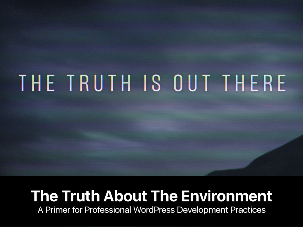 The Truth About The Environment A Primer for Pr...