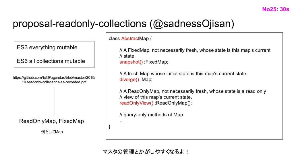 proposal-readonly-collections (@sadnessOjisan) ...