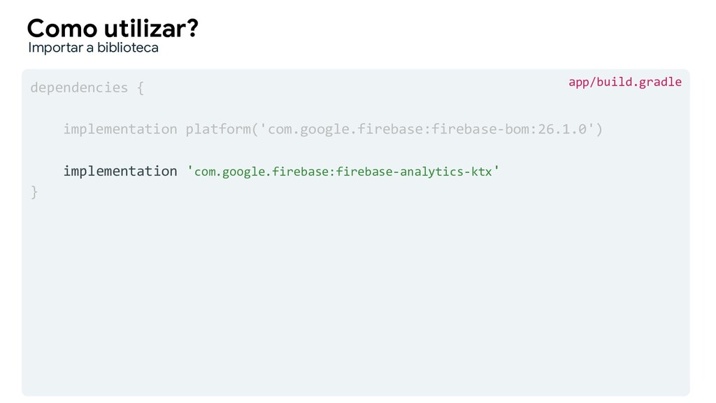 dependencies { implementation platform('com.goo...