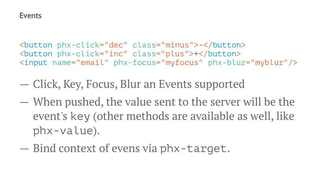 """Events <button phx-click=""""dec"""" class=""""minus"""">-<..."""