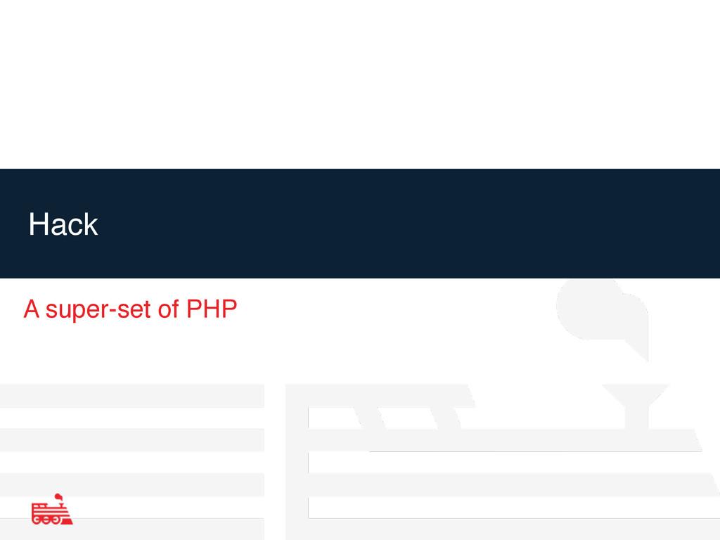 Hack A super-set of PHP