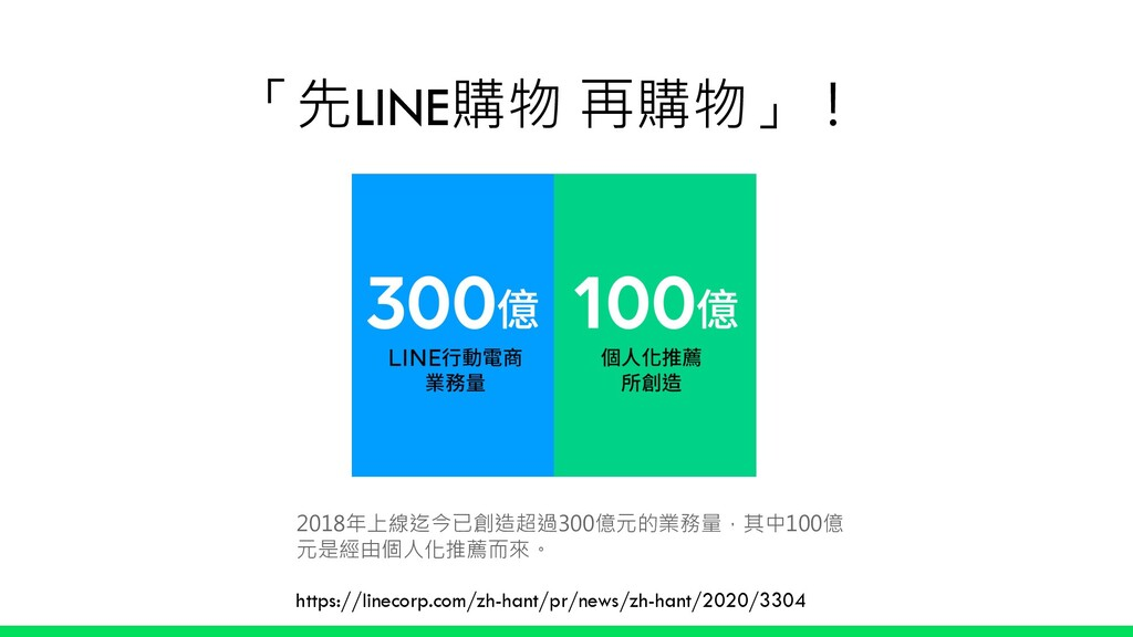 「先LINE購物 再購物」! Live Commerce https://linecorp.c...