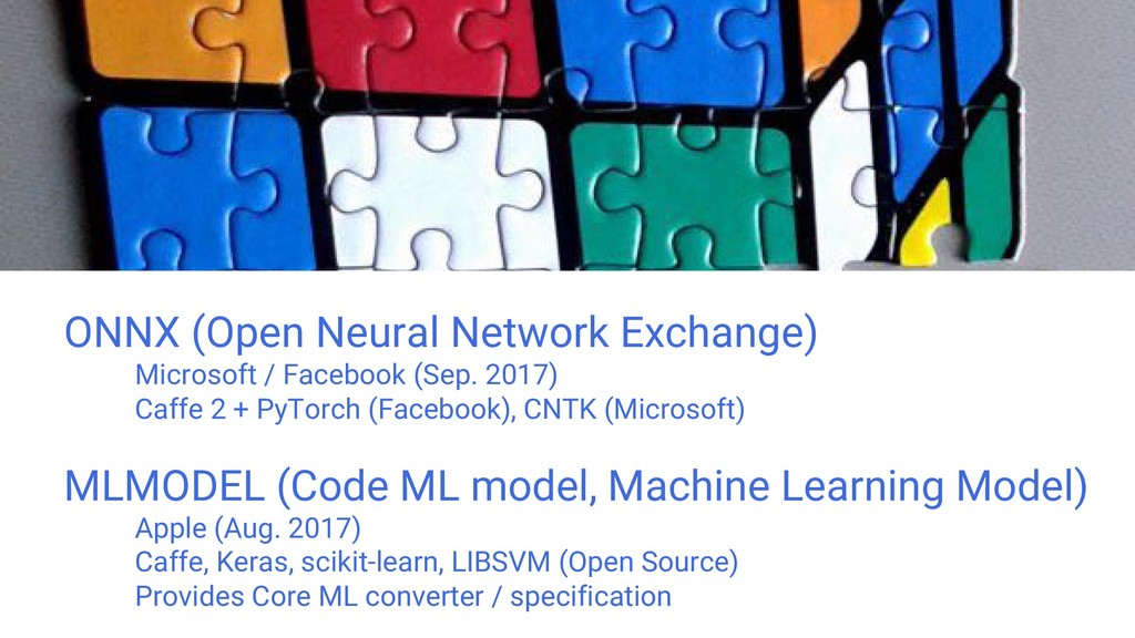 ONNX (Open Neural Network Exchange) Microsoft /...