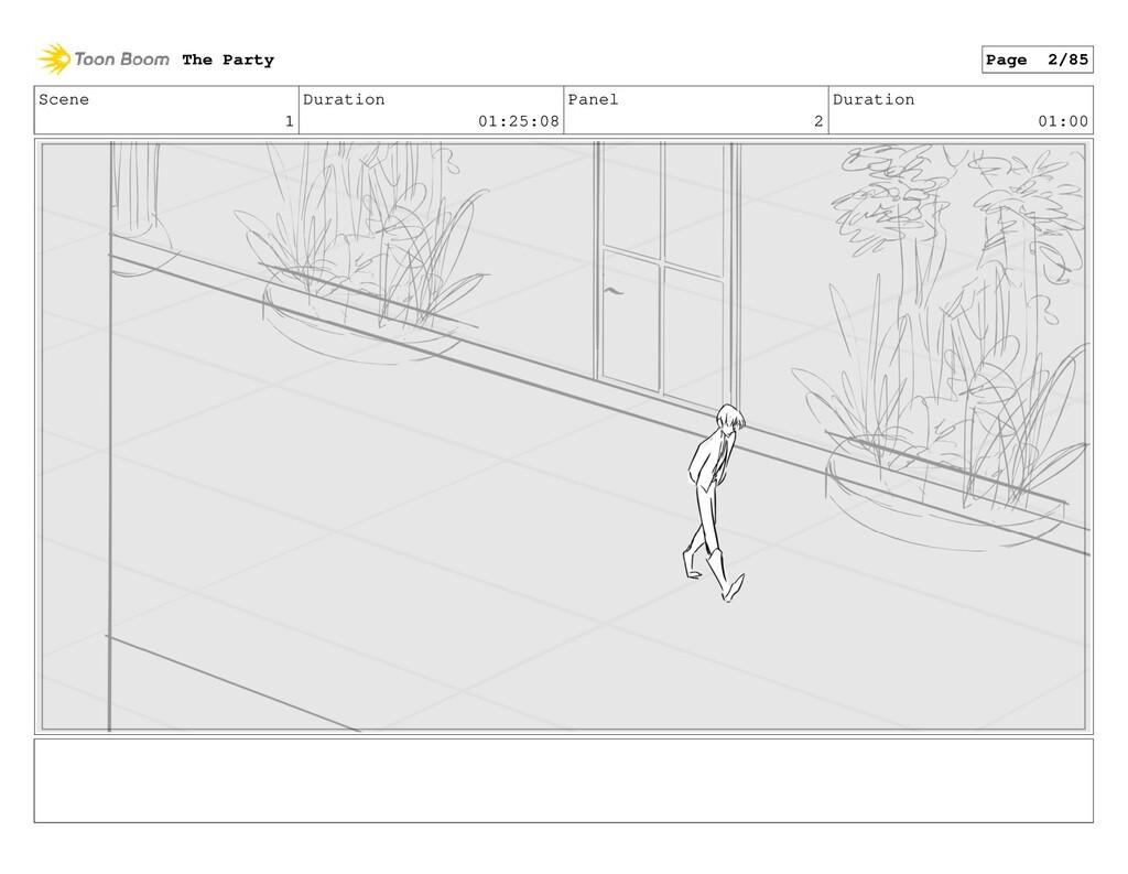 Scene 1 Duration 01:25:08 Panel 2 Duration 01:0...