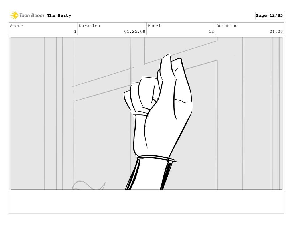 Scene 1 Duration 01:25:08 Panel 12 Duration 01:...