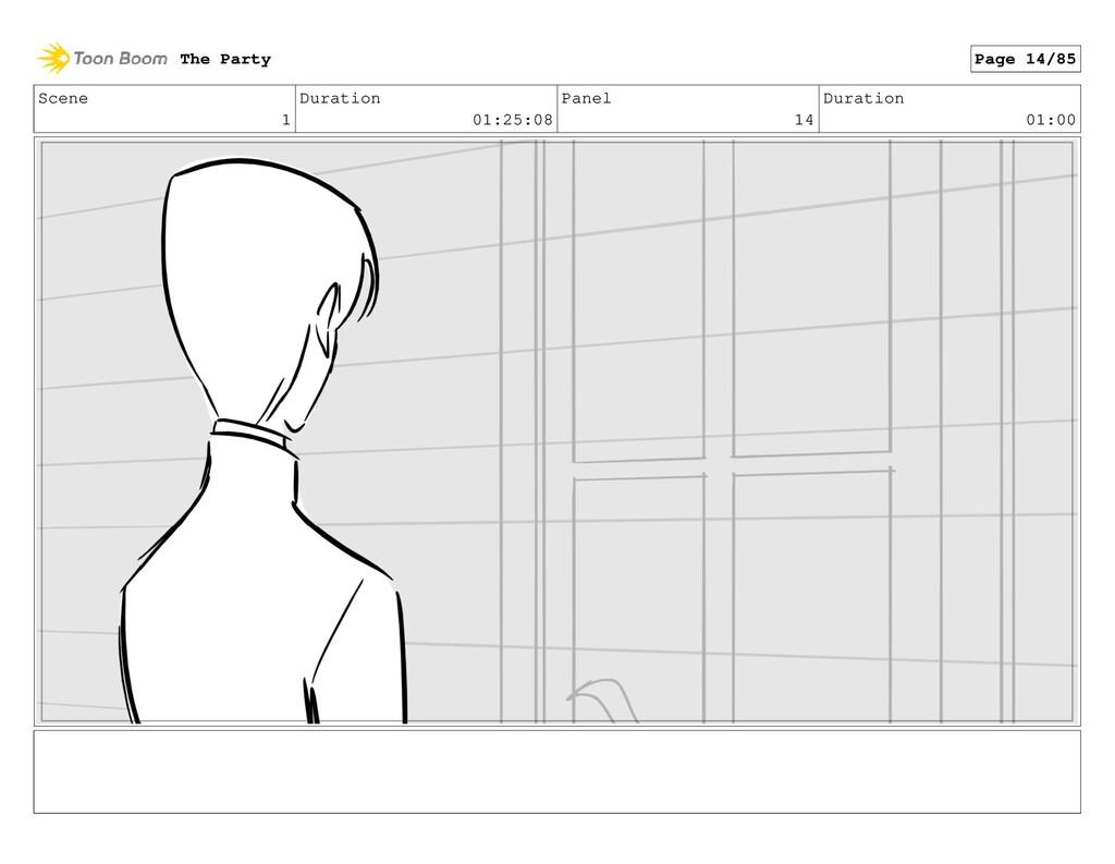 Scene 1 Duration 01:25:08 Panel 14 Duration 01:...