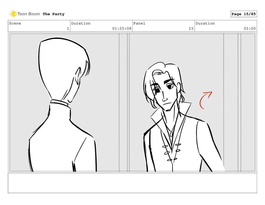 Scene 1 Duration 01:25:08 Panel 15 Duration 01:...