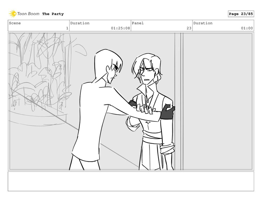 Scene 1 Duration 01:25:08 Panel 23 Duration 01:...