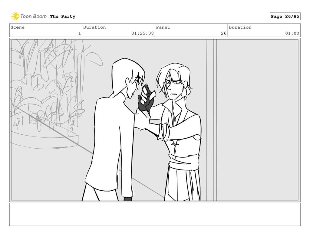 Scene 1 Duration 01:25:08 Panel 26 Duration 01:...