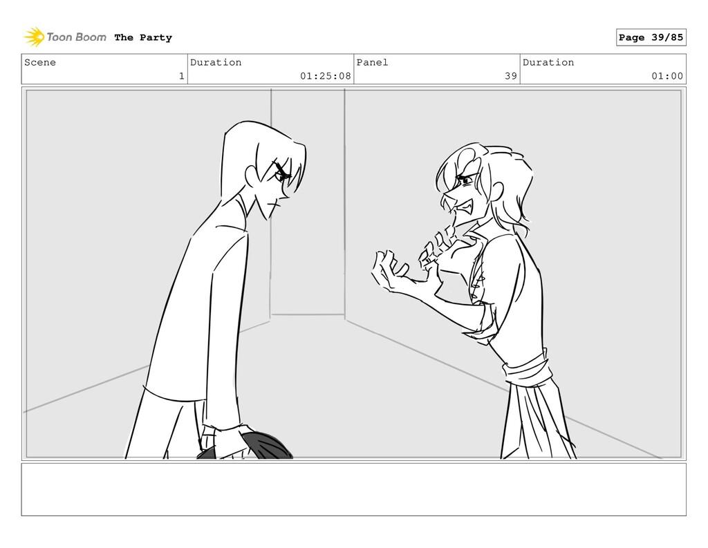 Scene 1 Duration 01:25:08 Panel 39 Duration 01:...