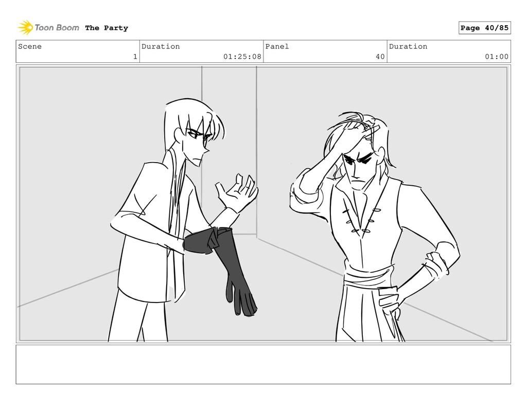 Scene 1 Duration 01:25:08 Panel 40 Duration 01:...