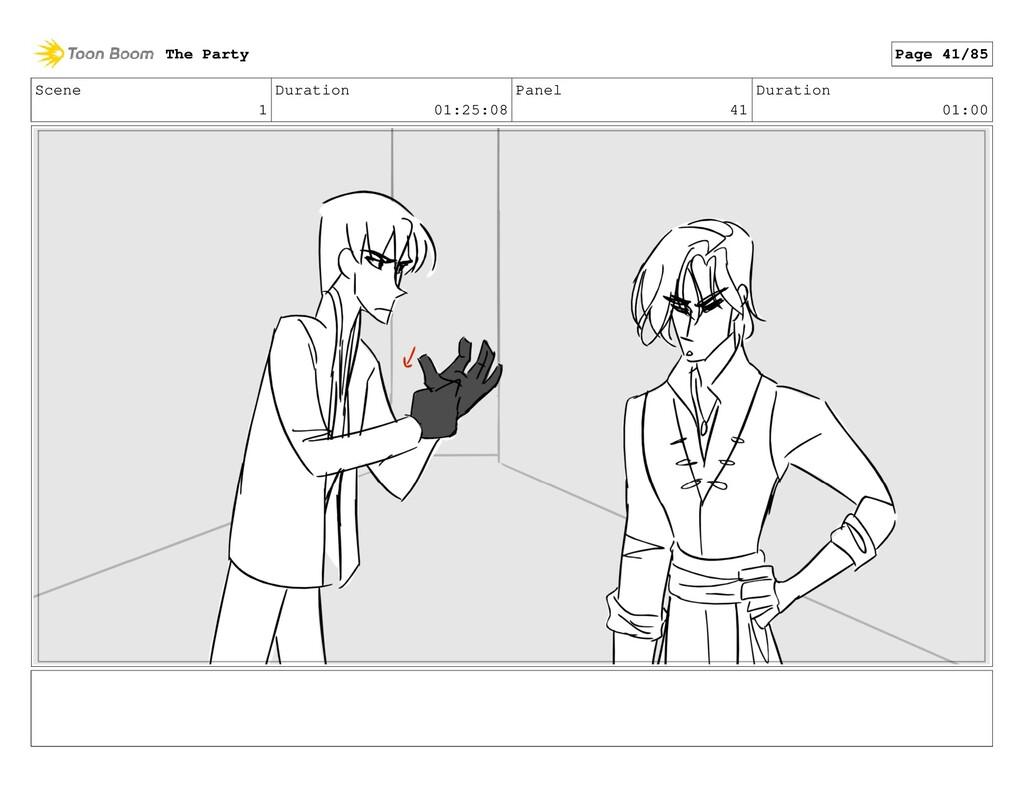 Scene 1 Duration 01:25:08 Panel 41 Duration 01:...