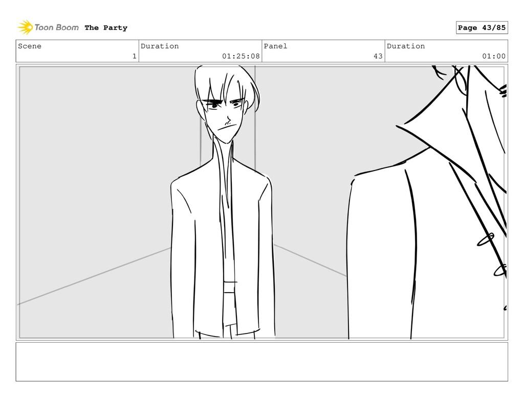 Scene 1 Duration 01:25:08 Panel 43 Duration 01:...