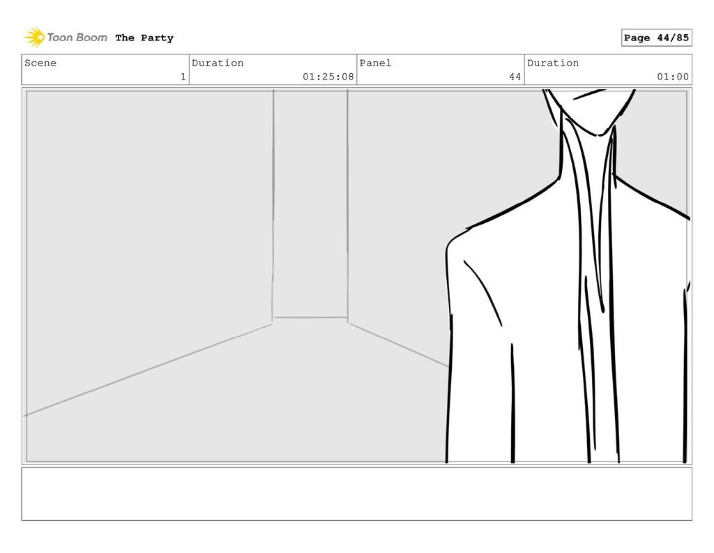Scene 1 Duration 01:25:08 Panel 44 Duration 01:...