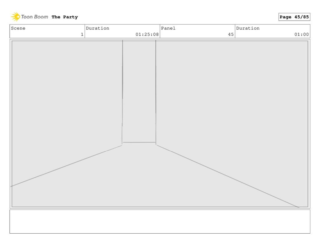 Scene 1 Duration 01:25:08 Panel 45 Duration 01:...
