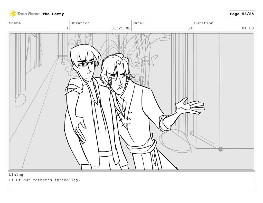 Scene 1 Duration 01:25:08 Panel 53 Duration 01:...