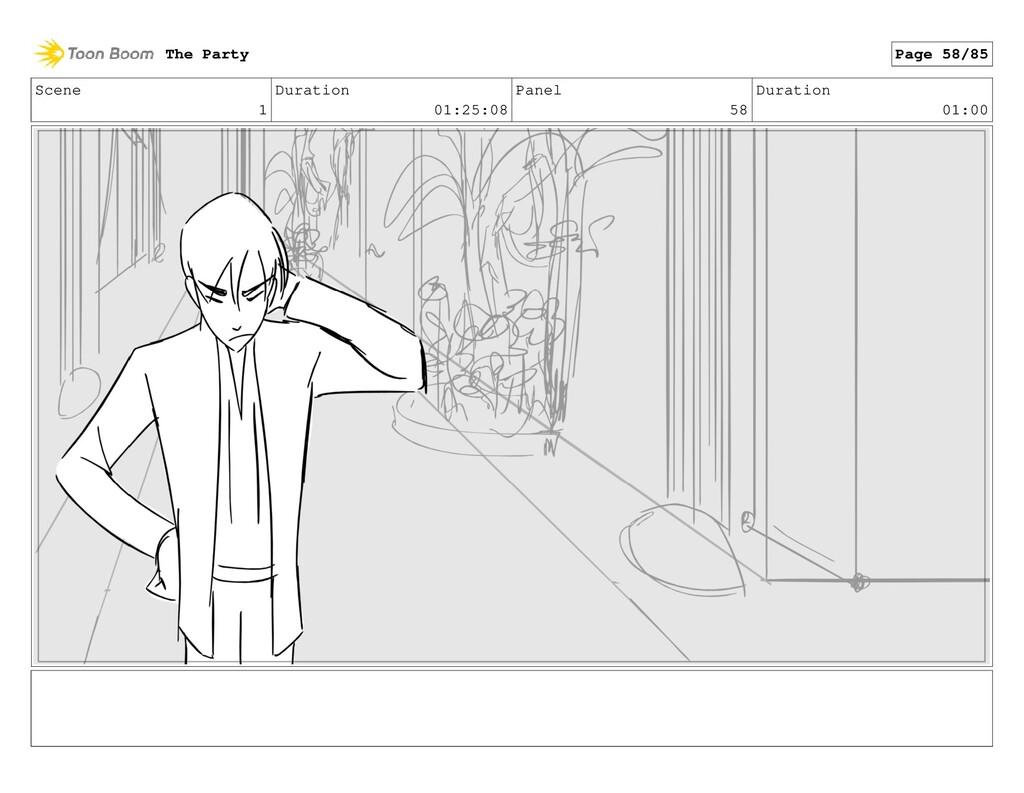 Scene 1 Duration 01:25:08 Panel 58 Duration 01:...