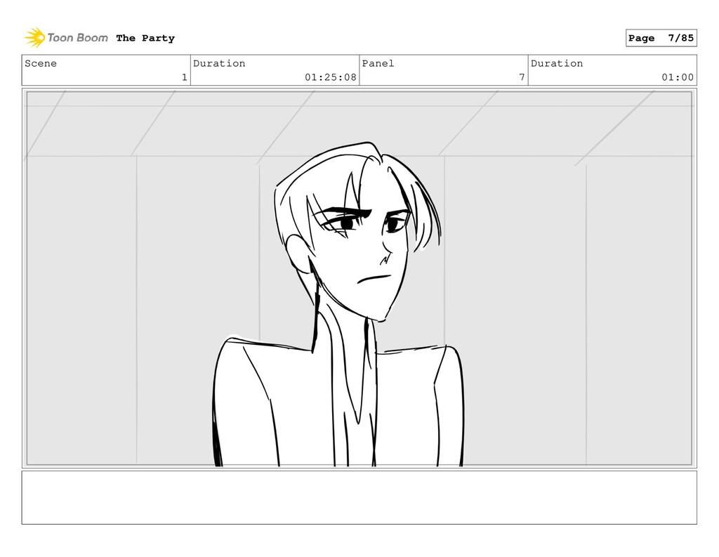 Scene 1 Duration 01:25:08 Panel 7 Duration 01:0...