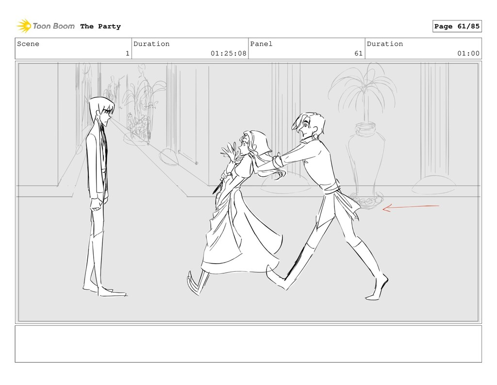 Scene 1 Duration 01:25:08 Panel 61 Duration 01:...