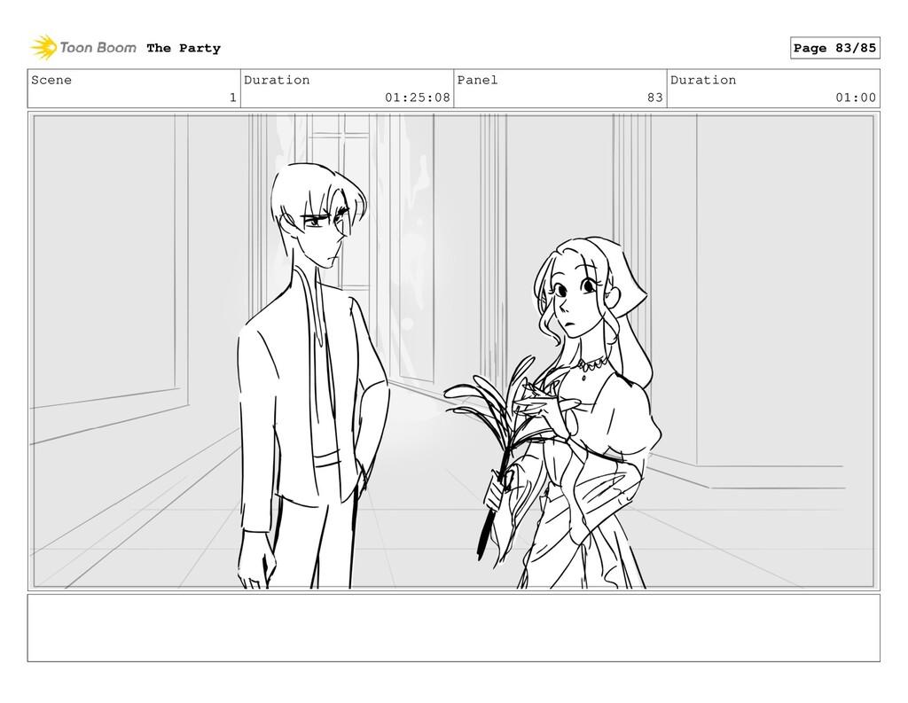 Scene 1 Duration 01:25:08 Panel 83 Duration 01:...