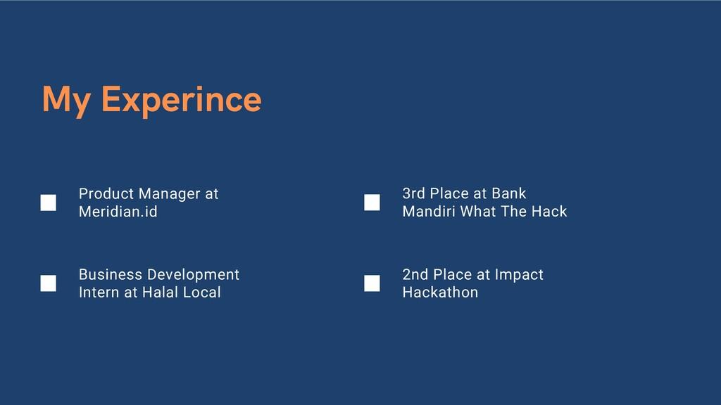 Business Development Intern at Halal Local My E...
