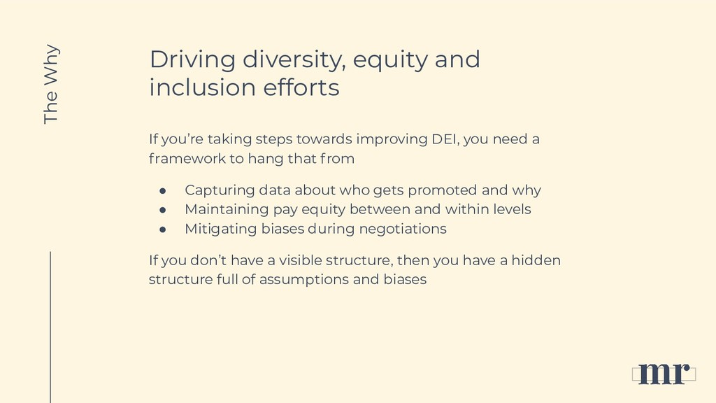 Driving diversity, equity and inclusion efforts...