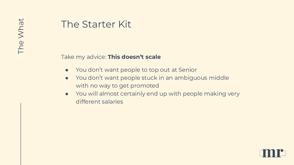 The Starter Kit Take my advice: This doesn't sc...