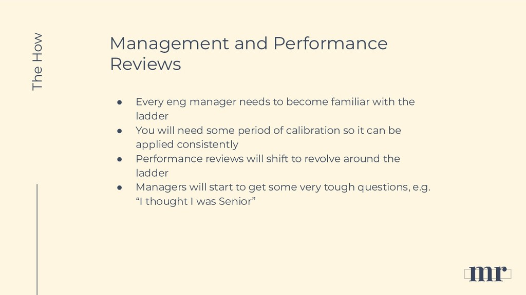 Management and Performance Reviews ● Every eng ...