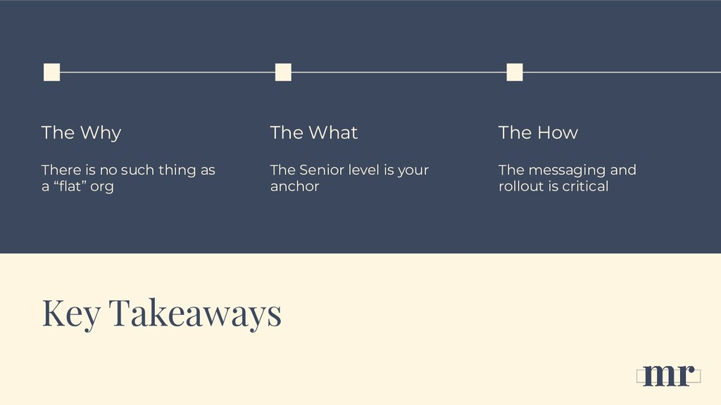 Key Takeaways The Why There is no such thing as...