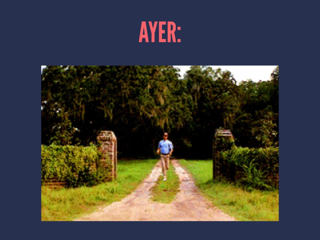 AYER:
