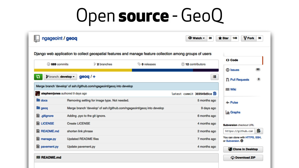 Open source - GeoQ