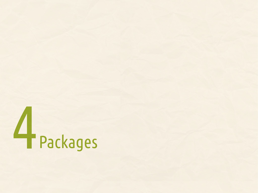 Packages 4 4