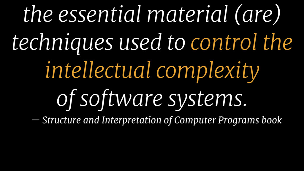 the essential material (are) techniques used to...