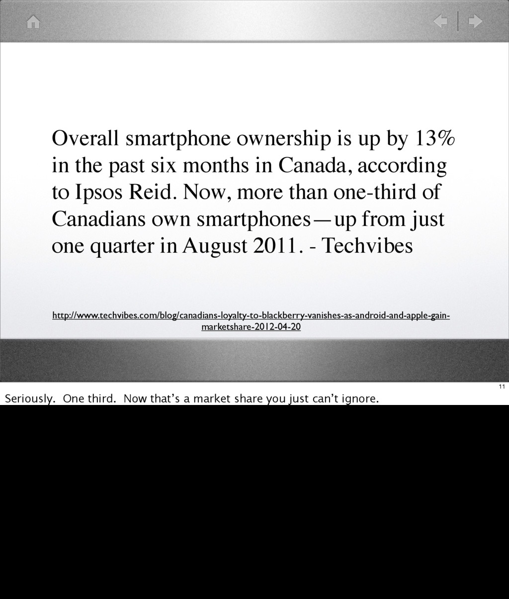 Overall smartphone ownership is up by 13% in th...