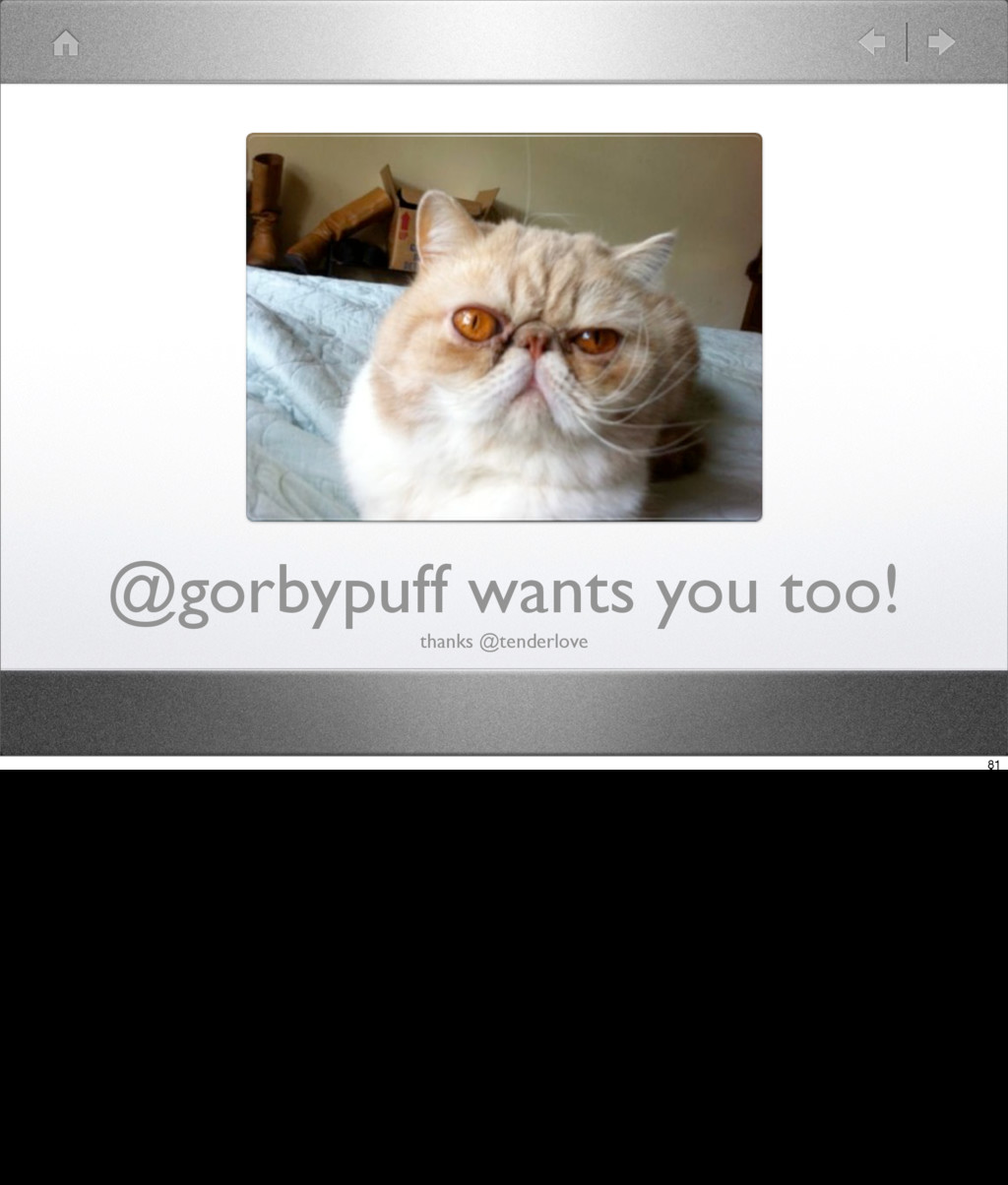 @gorbypuff wants you too! thanks @tenderlove 81